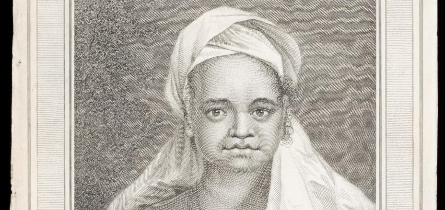 Woman of the Marquesas Islands (name unknown), engraved for publication by John Hall after an original drawing by William Hodges.