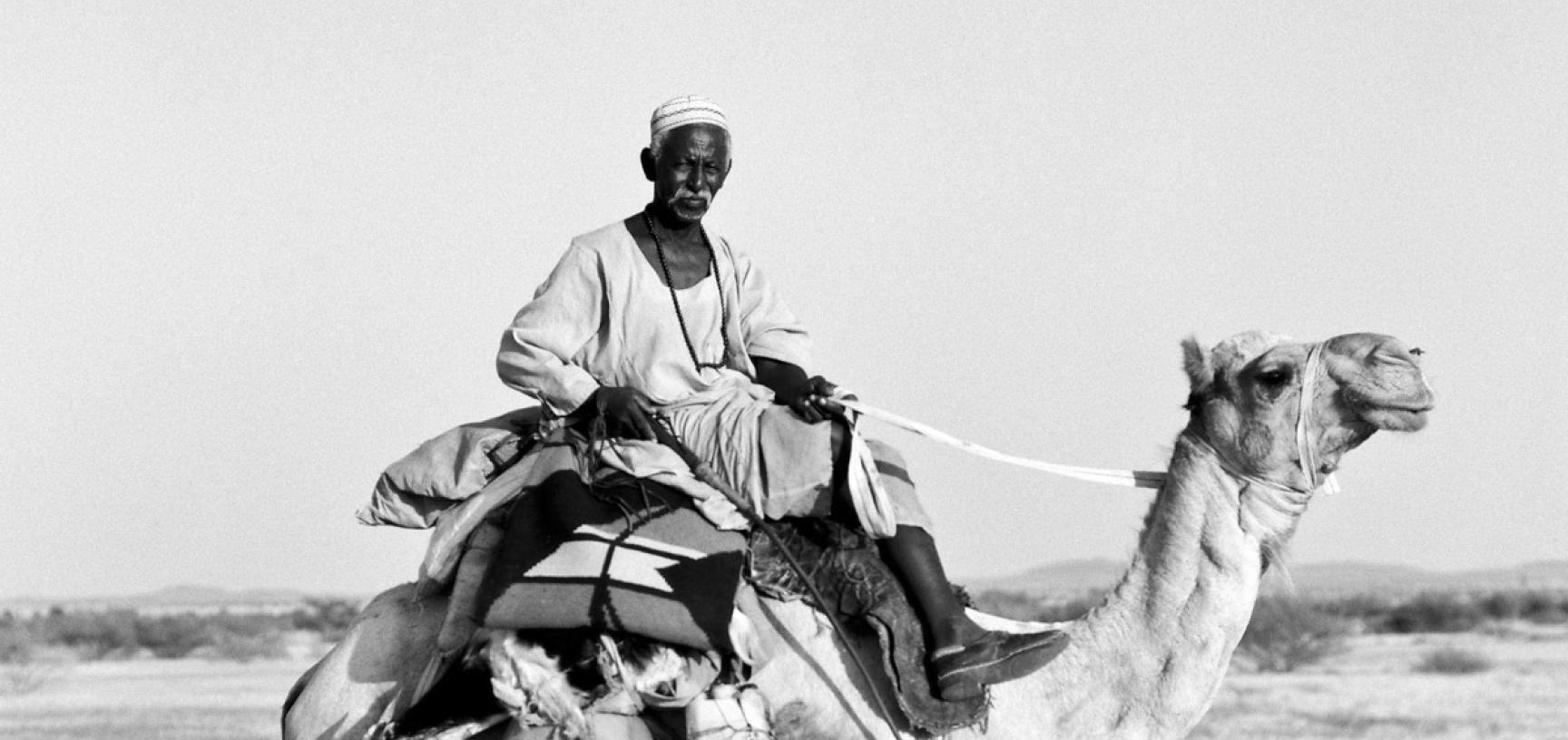 Kababish tribesman. Sudan. Photograph by Roger Chapman. 2014. (Copyright Roger Chapman)