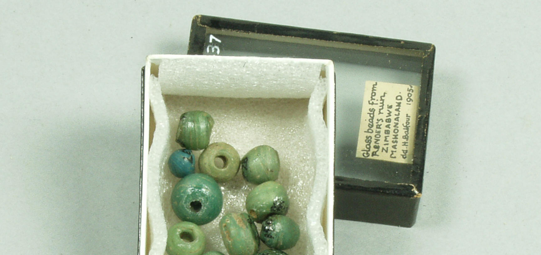 Beads from Great Zimbabwe