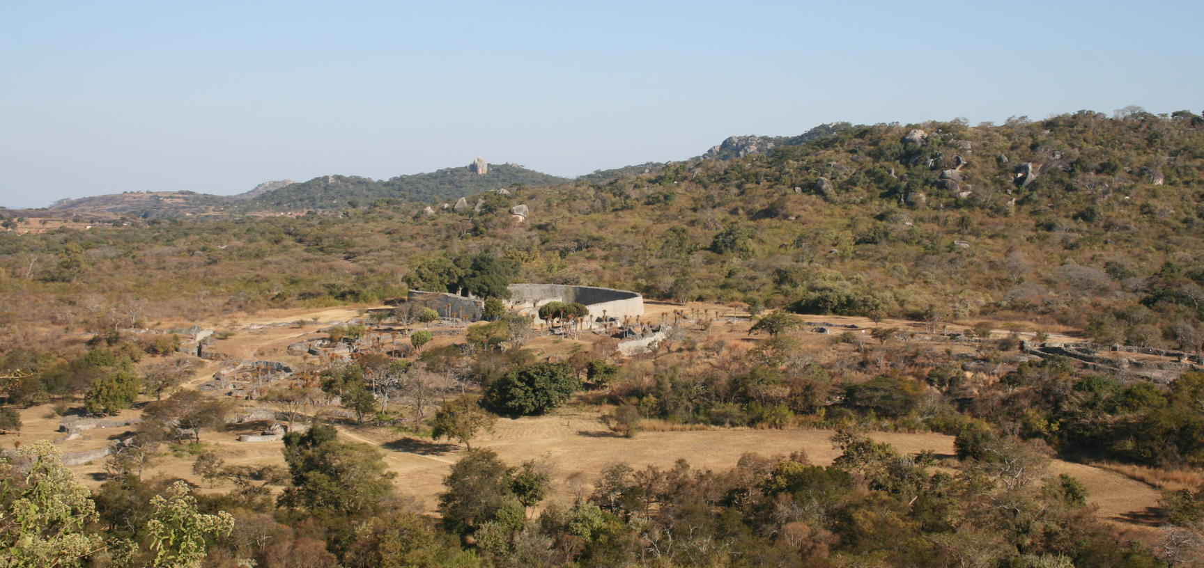 View of Great Zimbabwe site