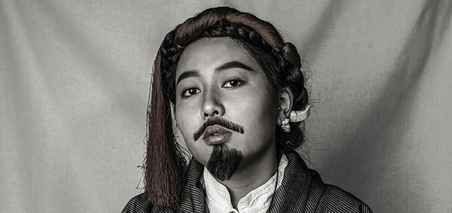 Nyema Droma self portrait, Lhasa 2018. © Nyema Droma and Pitt Rivers Museum