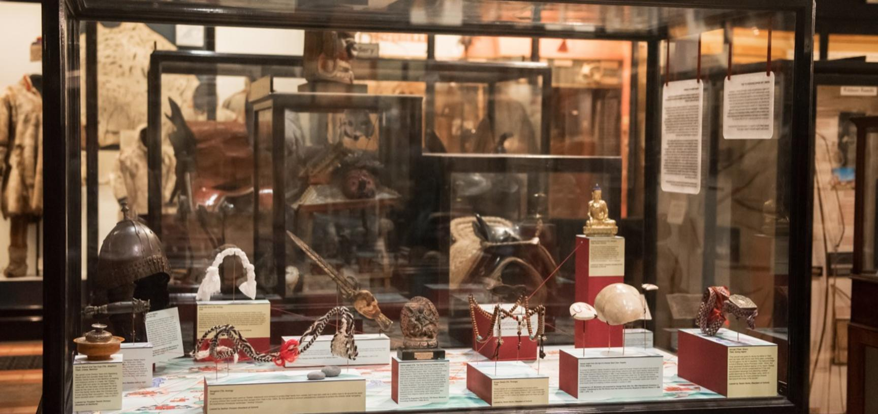 'Tibetan Objects in Transition', Pitt Rivers Museum, University of Oxford, 31 August 2018 to 25 January 2019. (Copyright Pitt Rivers Museum, University of Oxford)