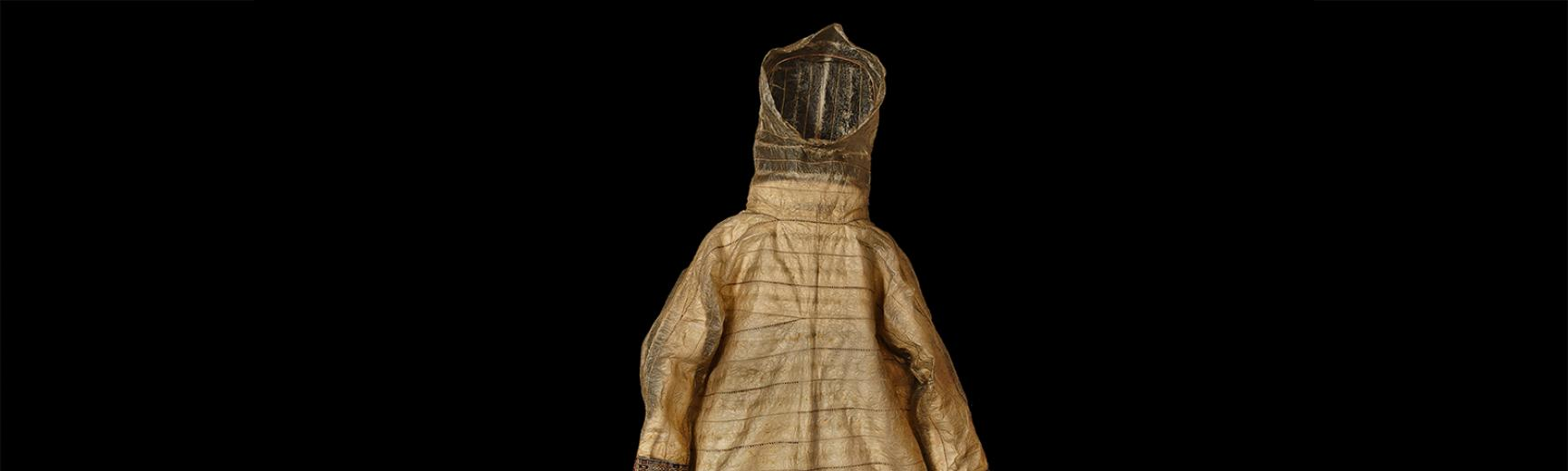 The parka (1908.73.1) after conservation