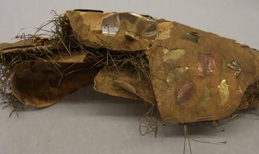 Paper crown of Subhadra (1894.28.2) before conservation