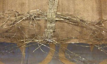 Metal braid of Balabhadra (1894.28.3) before conservation
