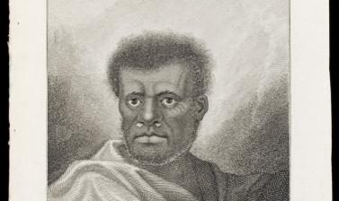 Man of Vanuatu (name unknown), engraved for publication by James Caldwell after an original drawing by William Hodges.