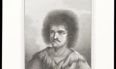 Tahitian chief Tu, engraved for publication by John Hall after an original drawing by William Hodges.