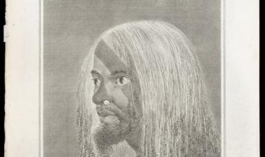 Man of Vanuatu (name unknown), engraved for publication by James Basire after an original drawing by William Hodges. (Copyright Pitt Rivers Museum, University of Oxford. Accession Number: 2013.28.131)
