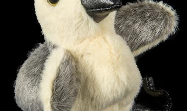 Soft goose toy.