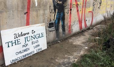 Photograph by Caroline Gregory. Calais, France. 2015–2016.