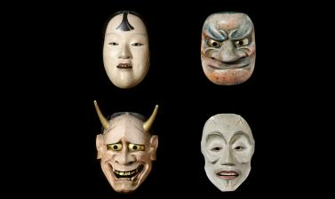 Masks top row: 1884.114.34, .57; bottom row 118.114.9, .46 (in store)