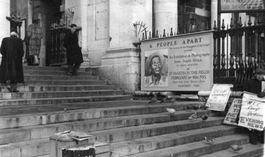 'A People Apart' at the church of St Martin-in-the-Fields, London. February 1955.