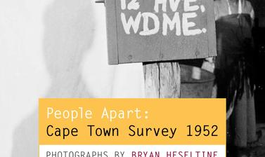 People Apart: Cape Town Survey 1952 – Photographs by Bryan Heseltine (Oxford: Pitt Rivers Museum, 2011). ISBN 978-0-902793-53-8