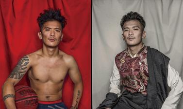 Tenzin Tsatsen. Photograph by Nyema Droma. 2018. (Copyright Nyema Droma/Pitt Rivers Museum, University of Oxford)