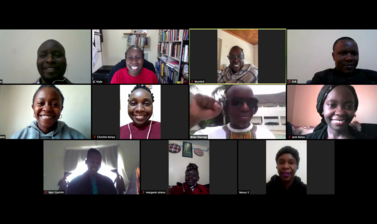 Kenya research project zoom meeting 18 July 2020