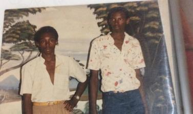 Photograph of victims Joseph Gatare and Bashire Pierre Niyoyita (brothers).