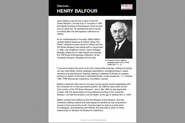 henry balfour