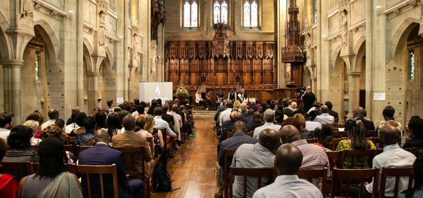 Community-lead commemoration event and exhibition launch