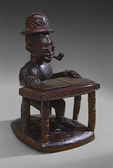Sculpture of Colonial Officer B. J. A. Matthews [1981.12.1]